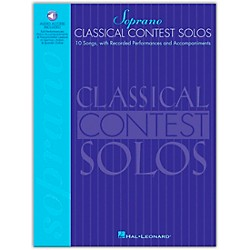 Hal Leonard Classical Contest Solos For Soprano Book/CD (740073)