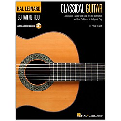 Hal Leonard Classical Guitar Book/CD Hal Leonard Guitar Method (697376)