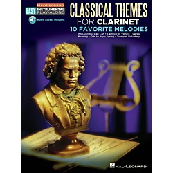 Hal Leonard Classical Themes - Clarinet - Easy Instrumental Play-Along Book with Online Audio Tracks (123109)