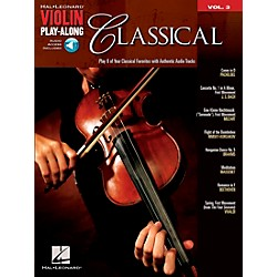Hal Leonard Classical Violin Play-Along Volume 3 Book/CD (842154)