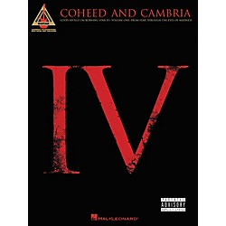 Hal Leonard Coheed and Cambria Good Apollo I'm Burning Star IV Volume 1 Guitar Tab Songbook (690828)