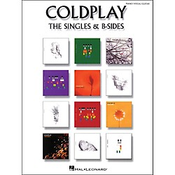 Hal Leonard Coldplay: The Singles & B Sides Pvg arranged for piano, vocal, and guitar (P/V/G) (306902)