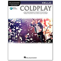 Hal Leonard Coldplay For Cello - Instrumental Play-Along CD/Pkg (103346)