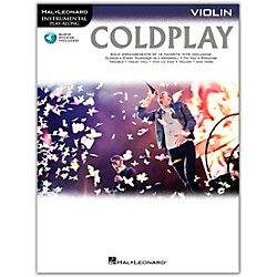 Hal Leonard Coldplay For Violin - Instrumental Play-Along CD/Pkg (103344)