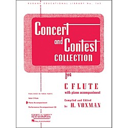 Hal Leonard Concert And Contest Collection C Flute Piano Accompaniment Only (4471620)