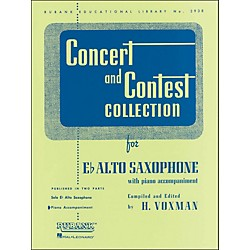 Hal Leonard Concert And Contest Collection E Flat Alto Saxophone Piano Accompaniment (4471700)