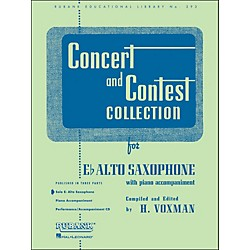 Hal Leonard Concert And Contest Collection E Flat Alto Saxophone Solo Part Only (4471690)