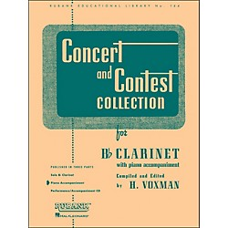 Hal Leonard Concert And Contest Collection For B Flat Clarinet Piano Accompaniment (4471640)