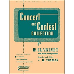 Hal Leonard Concert And Contest Collection For B Flat Clarinet Solo Part Only (4471630)