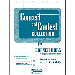 Hal Leonard Concert And Contest Collection French Horn In F Solo Part Only (4471770)