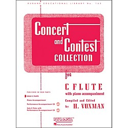 Hal Leonard Concert And Contest Collections For C Flute Solo Part Only (4471610)