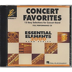 Hal Leonard Concert Favorites Vol1 - CD (860136)