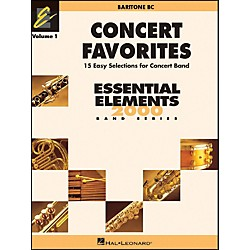 Hal Leonard Concert Favorites Vol1 Baritone B.C. (860131)