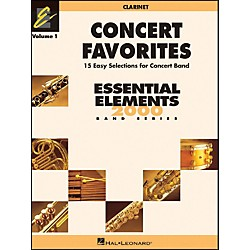 Hal Leonard Concert Favorites Vol1 Bb Clarinet (860122)
