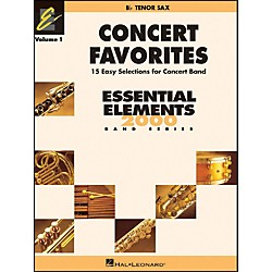 Hal Leonard Concert Favorites Vol1 Bb Tenor Sax (860126)