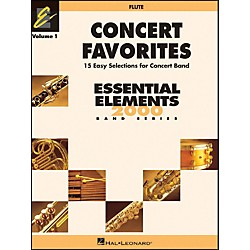 Hal Leonard Concert Favorites Vol1 Flute (860119)