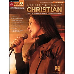 Hal Leonard Contemporary Christian - Pro Vocal Songbook Women's Edition Volume 35 Book/CD (740390)