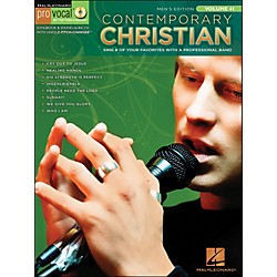 Hal Leonard Contemporary Christian Pro Vocal Songbook & CD - Men's Edition Volume 41 (740391)