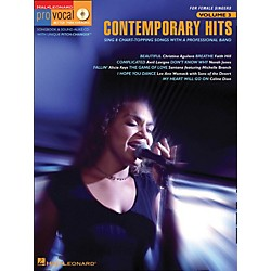 Hal Leonard Contemporary Hits - Pro Vocal Series For Female Singers Book/CD Volume 3 (740246)
