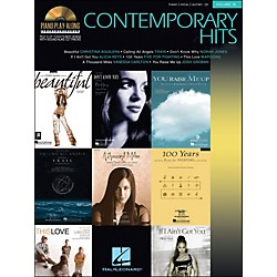 Hal Leonard Contemporary Hits Volume 19 Book/CD Piano Play-Along arranged for piano, vocal, and guitar (P/V/G) (311162)
