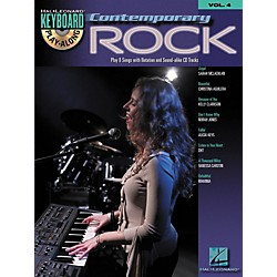 Hal Leonard Contemporary Rock Keyboard PlayAlong Volume 4 (Book/CD) (699878)