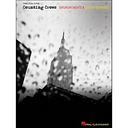 Hal Leonard Counting Crows - Saturday Nights & Sunday Mornings arranged for piano, vocal, and guitar (P/V/G) (306996)