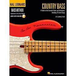 Hal Leonard Country Bass - Hal Leonard Bass Method Supplement To Any Bass Method Book/CD (695928)