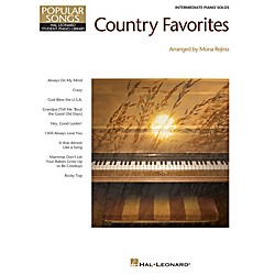 Hal Leonard Country Favorites - Hal Leonard Student Piano Library Popular Songs Series for Intermediate Level Pi (296861)