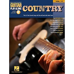 Hal Leonard Country Guitar Play-Along Series Book with CD (699588)