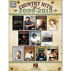 Hal Leonard Country Hits Of 2009 - 2010 Easy Guitar With Tab (702282)