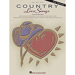 Hal Leonard Country Love Songs - 4th Edition Piano, Vocal, Guitar Songbook (311528)