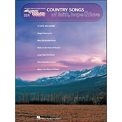 Hal Leonard Country Songs Of Faith, Hope & Love E-Z Play 324 (100247)