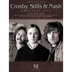 Hal Leonard Crosby Stils & Nash - Greatest Hits Piano, Vocal, Guitar Songbook (306520)