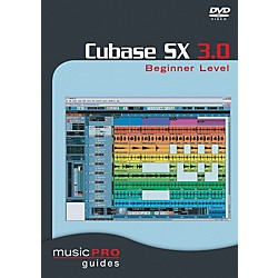 Hal Leonard Cubase SX 3.0 Beginner Level DVD (320626)