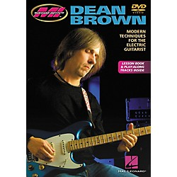 Hal Leonard DEAN BROWN - MODERN TECHNIQUES FOR THE ELECTRIC GUITARIST DVD (696002)