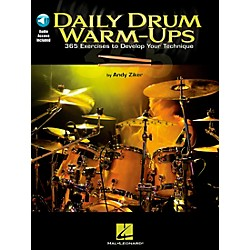 Hal Leonard Daily Drum Warm-Ups - 365 Exercises To Develop Your Technique (Book/CD) (6620151)