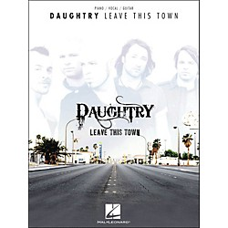 Hal Leonard Daughtry - Leave This Town arranged for piano, vocal, and guitar (P/V/G) (307091)