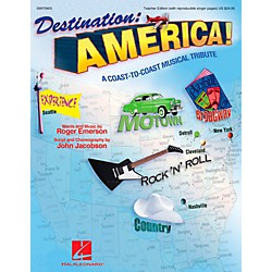 Hal Leonard Destination America - A Coast-to-Coast Musical Tribute Classroom Kit (9970905)