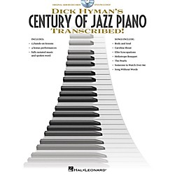 Hal Leonard Dick Hyman's Century Of Jazz Piano - Transcribed!  Instructional Book/DVD (312074)