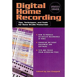 Hal Leonard Digital Home Recording, 2nd Edition Book (330984)