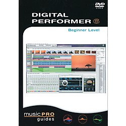 Hal Leonard Digital Performer 6, Beginner Level - Music Pro Guides (DVD) (320855)