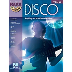 Hal Leonard Disco - Bass Play-Along Volume 32 (Book/CD) (701186)