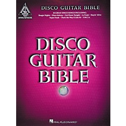 Hal Leonard Disco Guitar Bible Tab Songbook (690627)
