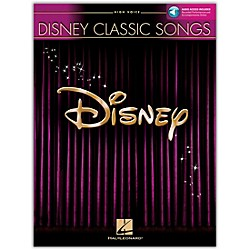 Hal Leonard Disney Classic Songs For High Voice Book/CD (445)