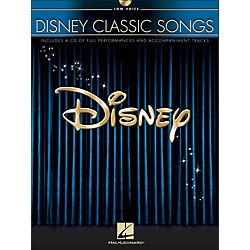 Hal Leonard Disney Classic Songs For Low Voice Book/CD (446)