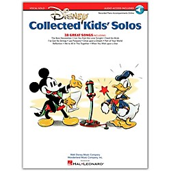 Hal Leonard Disney Collected Kids' Solos Book/CD (230066)