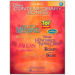 Hal Leonard Disney Contemporary Songs For High Voice Book/CD (447)