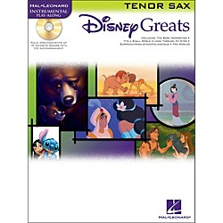Hal Leonard Disney Greats For Tenor Sax Book/CD Instrumental Play-Along (841937)