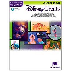 Hal Leonard Disney Greats for Alto Sax Book/CD Instrumental Play-Along (841936)