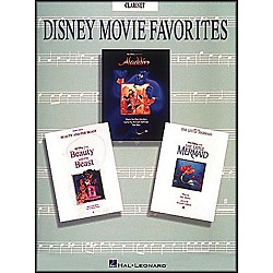 Hal Leonard Disney Movie Favorites for Clarinet (849923)